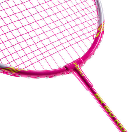 Raquette de badminton BR 160 prise simple enfant - rose