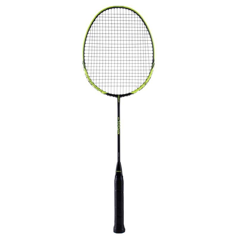 DĚTSKÉ RAKETY NA BADMINTON RAKETOVÉ SPORTY - RAKETA BR500 ŽLUTÁ  PERFLY - Badminton