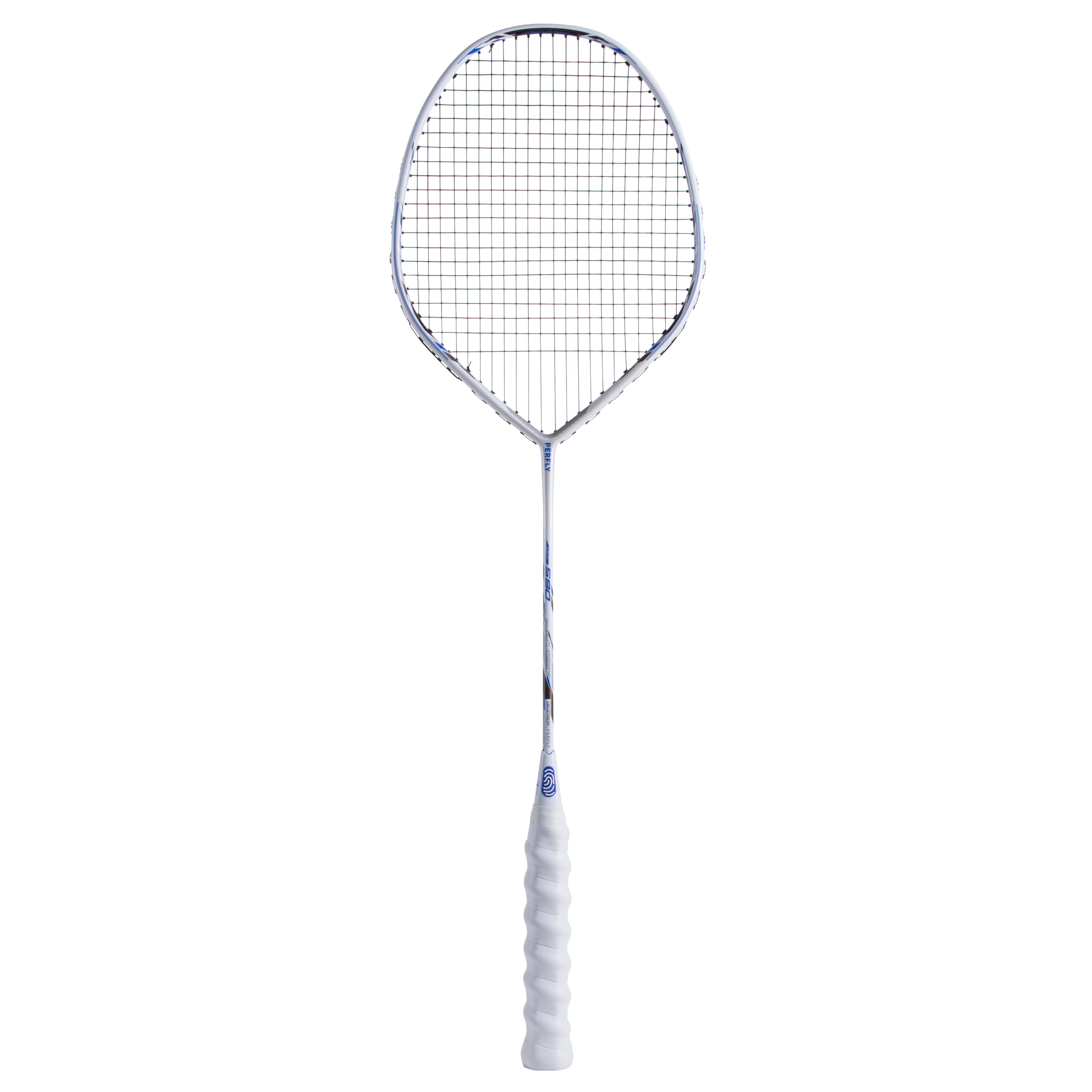 Perfly Badmintonracket BR590 V voor volwassenen wit kopen