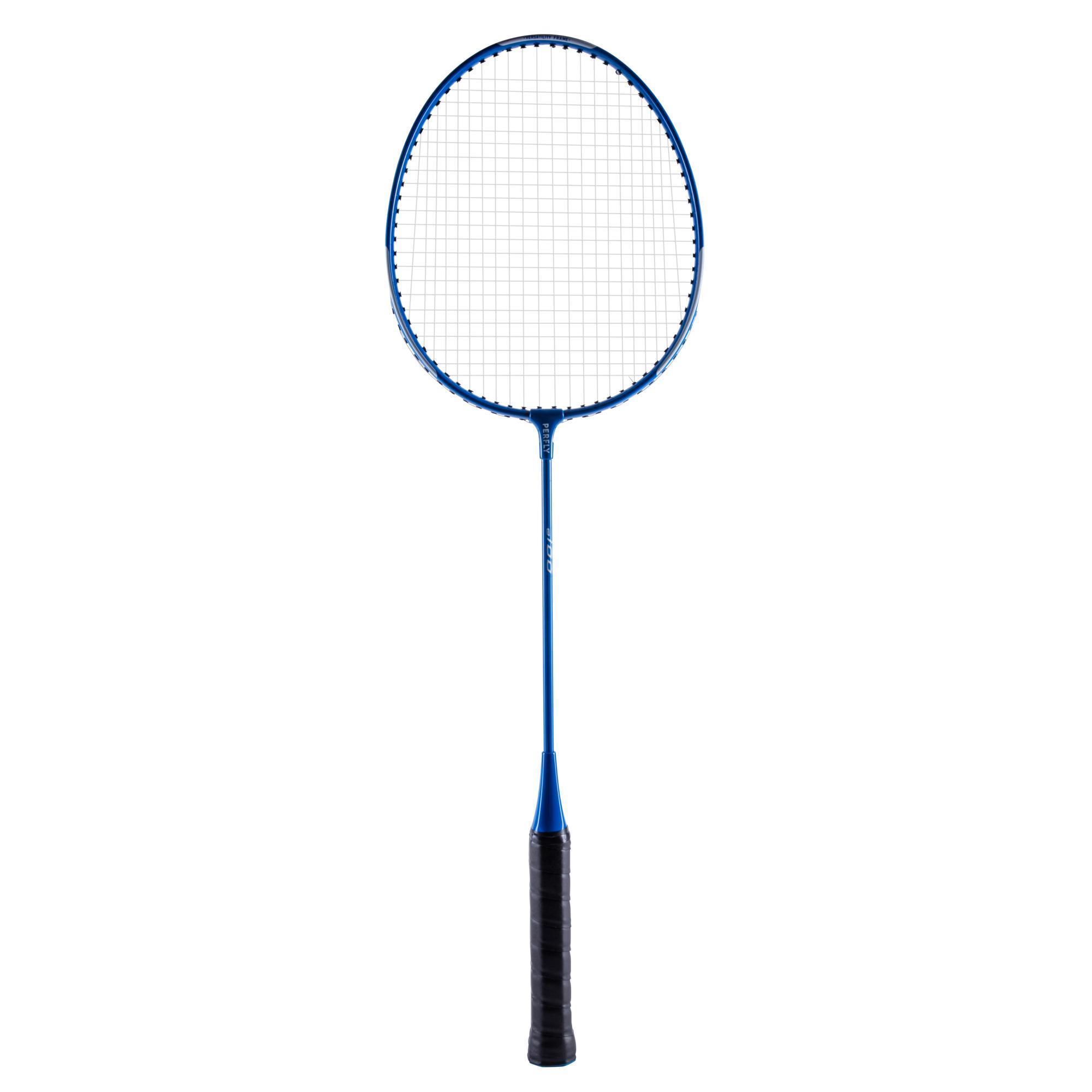 Perfly Badmintonracket BR100 voor volwassenen - blauw kopen