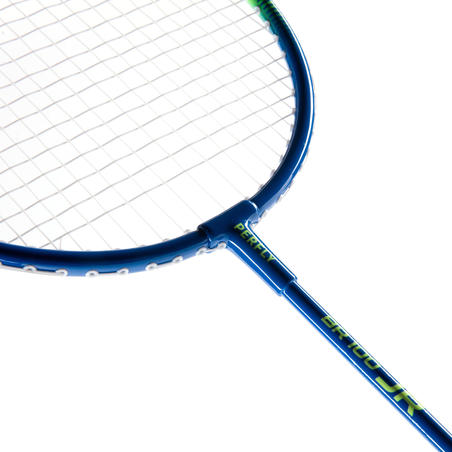 JUNIOR BADMINTON RACKET BR 100 BLUE YELLOW
