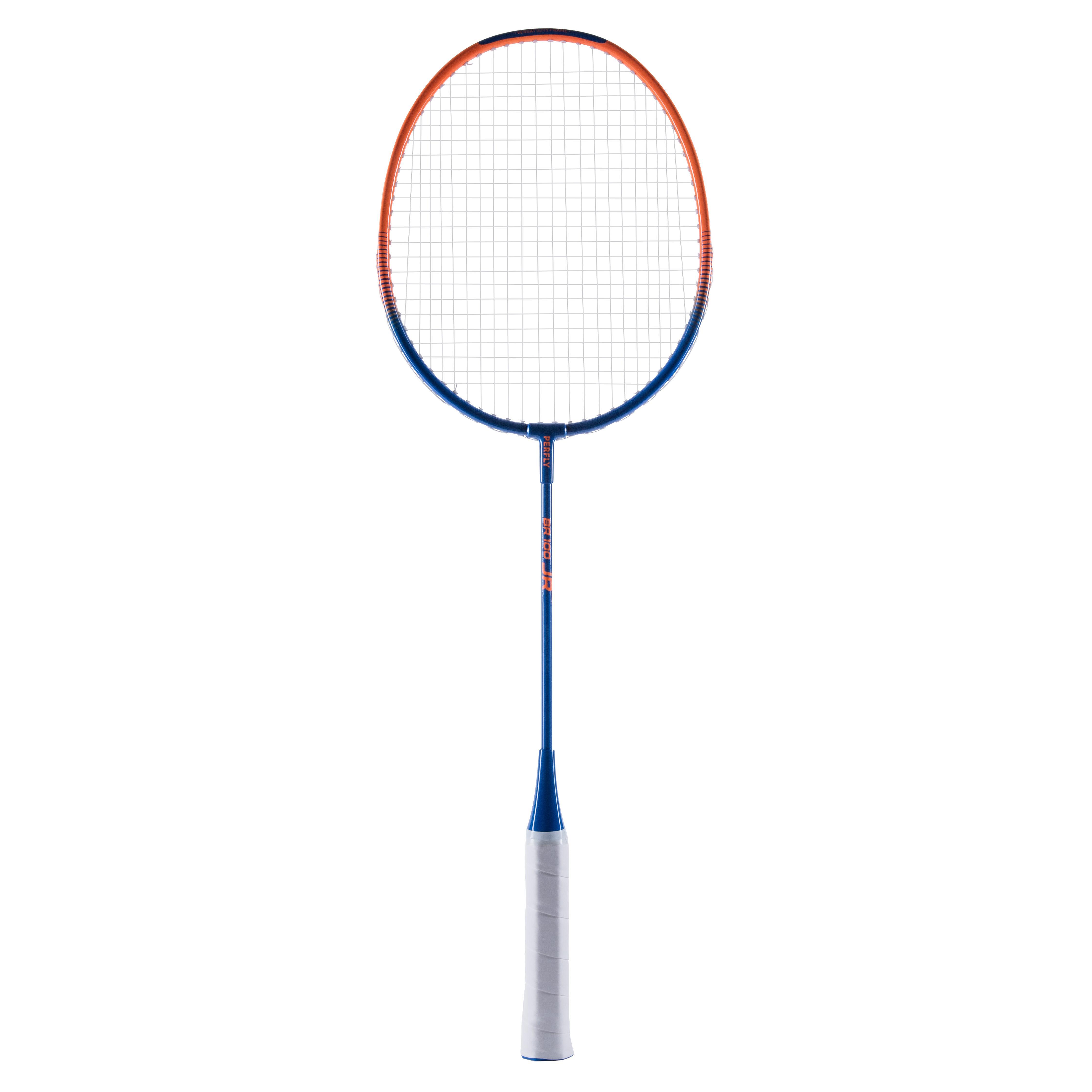 Perfly Badmintonracket voor kinderen BR 100 blauw oranje