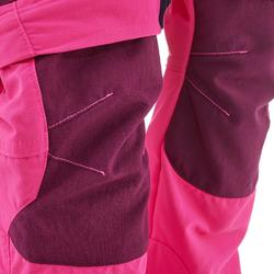 Zip-Off-Wanderhose MH550 Kleinkinder rosa