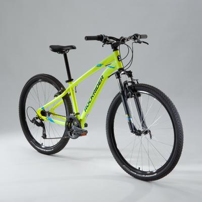 Гірський велосипед Rockrider 100 27,5_QUOTE_ - Жовтий