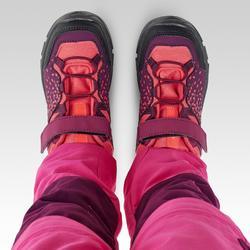 兒童款低筒健行鞋(魔鬼氈)MH120-紫色