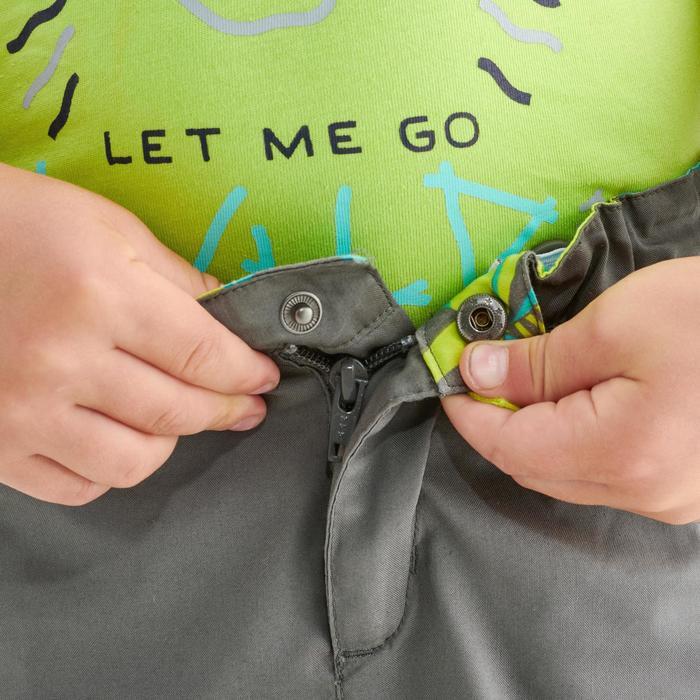 Pantalón Corto de Montaña y Trekking Niños 2-6 años MH500 Gris