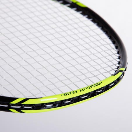 ADULT BADMINTON RACKET BR 160 BLACK GREEN