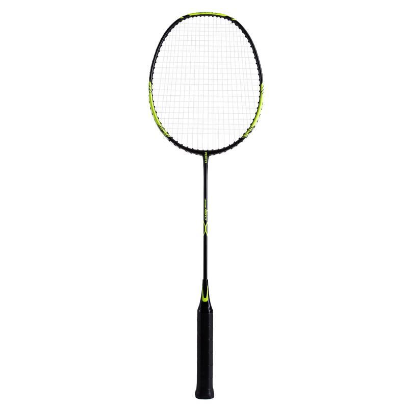 RAKETY NA BADMINTON DOSPĚLÍ RAKETOVÉ SPORTY - RAKETA BR160 ČERNO-ZELENÁ PERFLY - Badminton