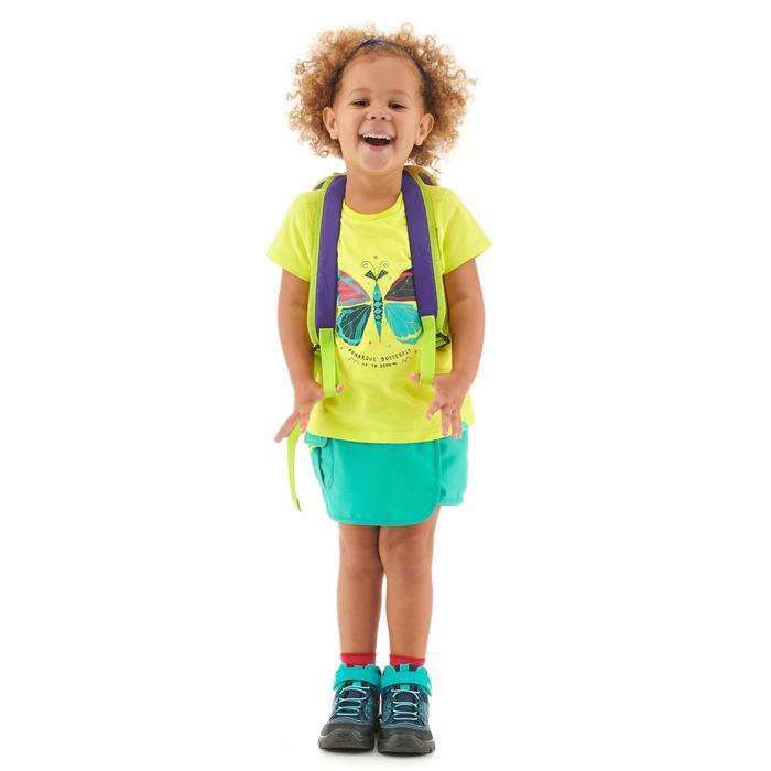 T-shirt de randonnée enfant MH100 jaune