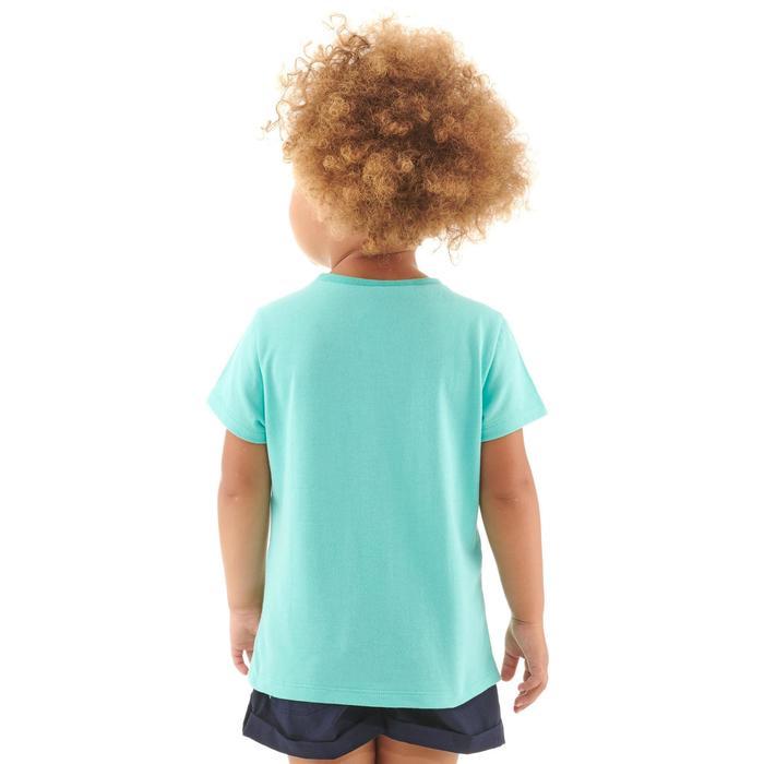 Wandel T-shirt voor kinderen MH100 turquoise