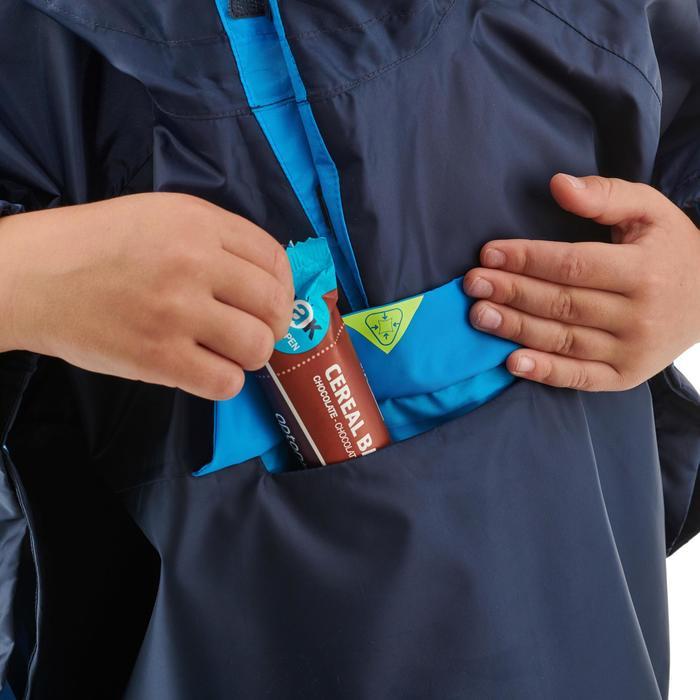 Poncho imperméable de randonnée - MH100 KID bleu marine - enfant 2-6 ANS