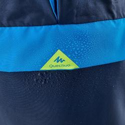 Regencape Wandern MH100 Kinder marineblau