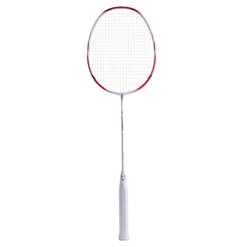 ADULT INTERMEDIATE BADMINTON RACKETS Badminton - BR 560 LITE WHITE RED PERFLY - Badminton