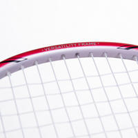 ADULT BADMINTON RACQUET BR 560 LITE WHITE RED