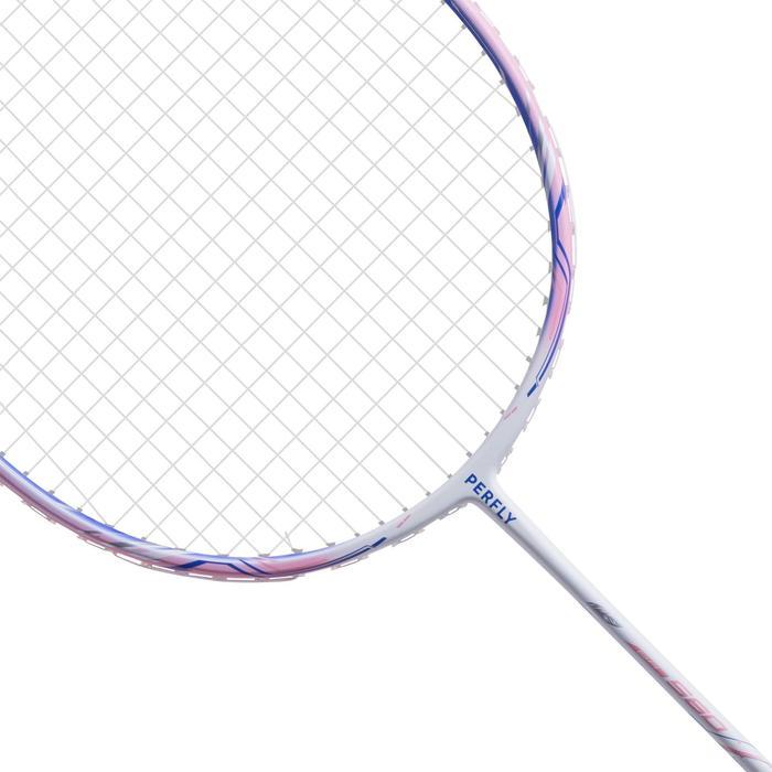 Badmintonracket voor volwassenen BR 560 Lite roze
