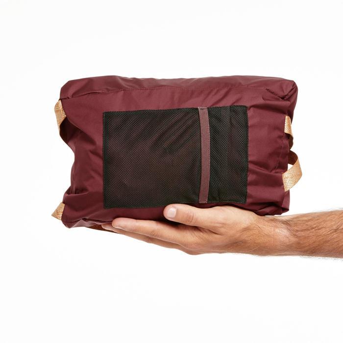 Veste imperméable NH500 chocolat homme