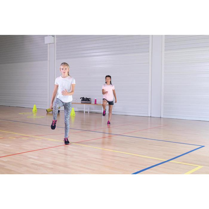 Leggings Gym 500 Kinder schwarz
