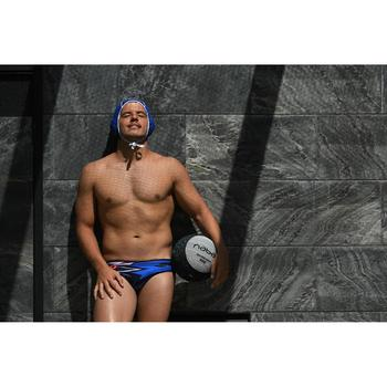 MAILLOT BAIN WATER POLO 500 HOMME MCROSS BLUE