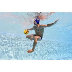 Zwemslip waterpolo 500 blauw