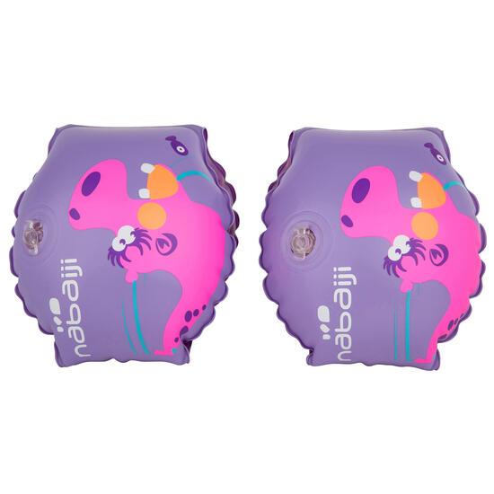 """Blauwe opblaasbare zwembandjes met print """"Zebro"""" 11-30 kg - 156435"""