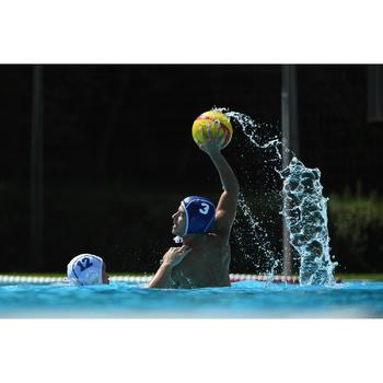 BALLON WATER POLO WP500 TAILLE 2 ROUGE BLEU