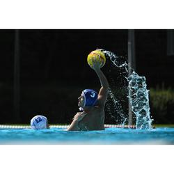 Zwemslip voor waterpolo voor heren 500 japan blauw/rood