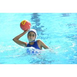 Wasserball Water Polo 500 Gr. 3 orange/grau