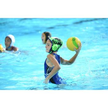 MAILLOT BAIN WATER POLO 500 FILLE BLEU
