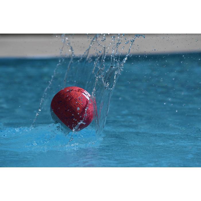 Wasserball Water Polo 500 Gr.4 rosa/grau