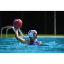 Waterpolobadpak voor dames 500 Sports rood