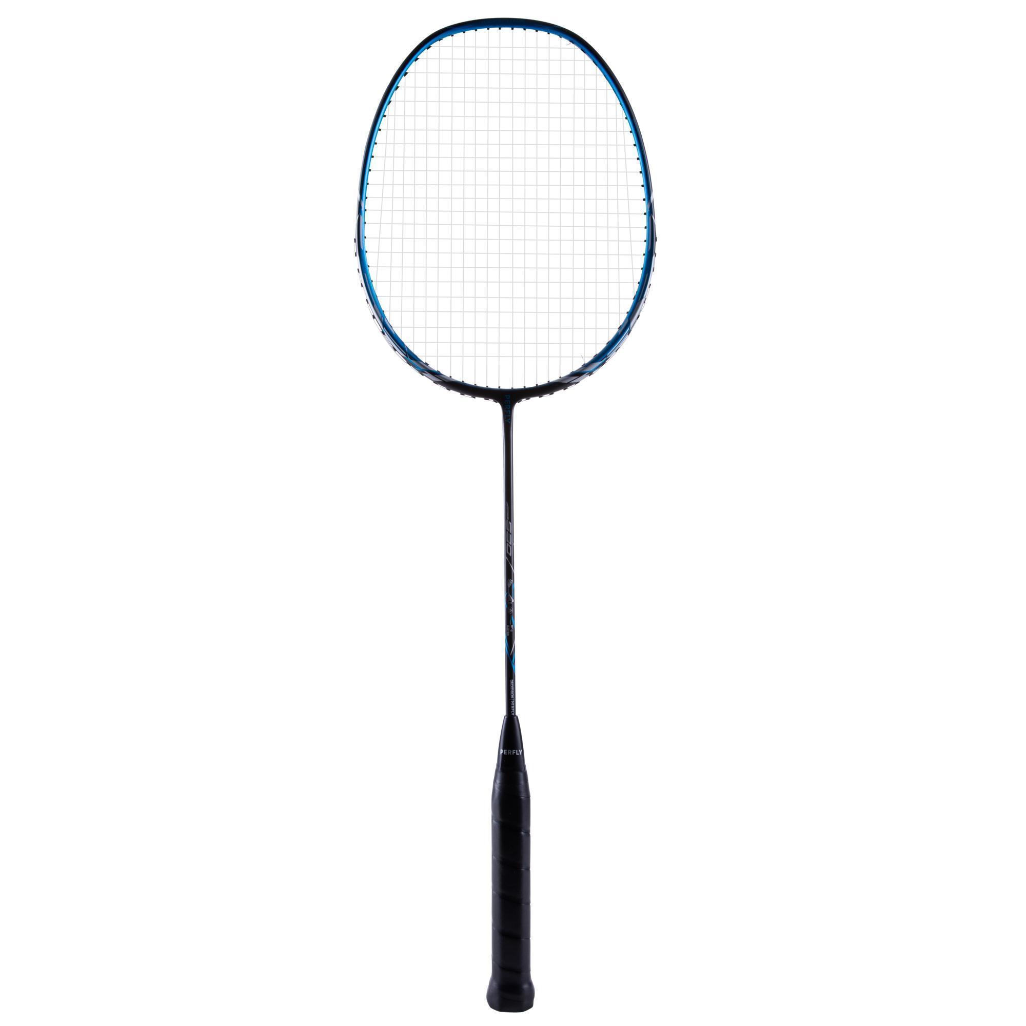 Perfly Badmintonracket BR530 voor volwassenen donkerblauw kopen