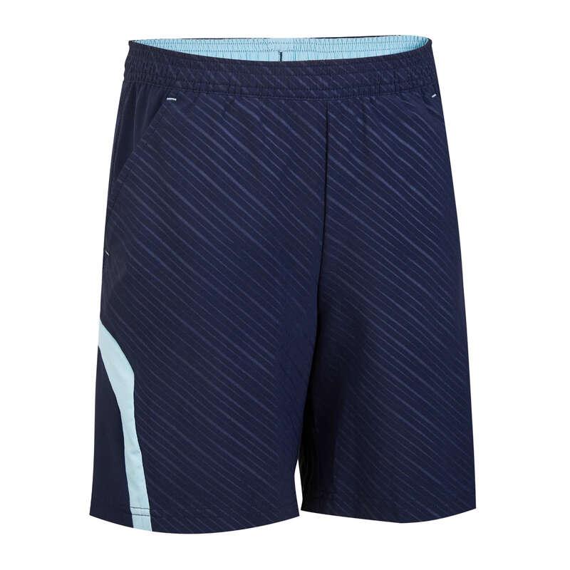 KIDS BADMINTON APPAREL Badminton - SHORT 860 JR Shorts NAV PERFLY - Badminton Clothing