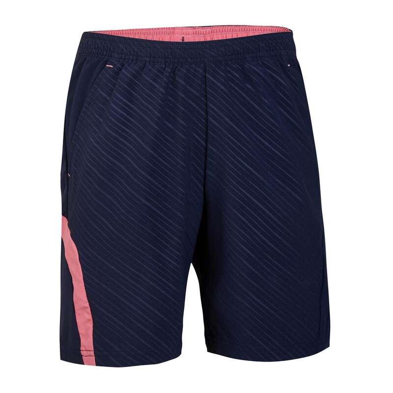 KIDS BADMINTON APPAREL Badminton - Shorts 560 JR NAVY PINK PERFLY - Badminton Clothing