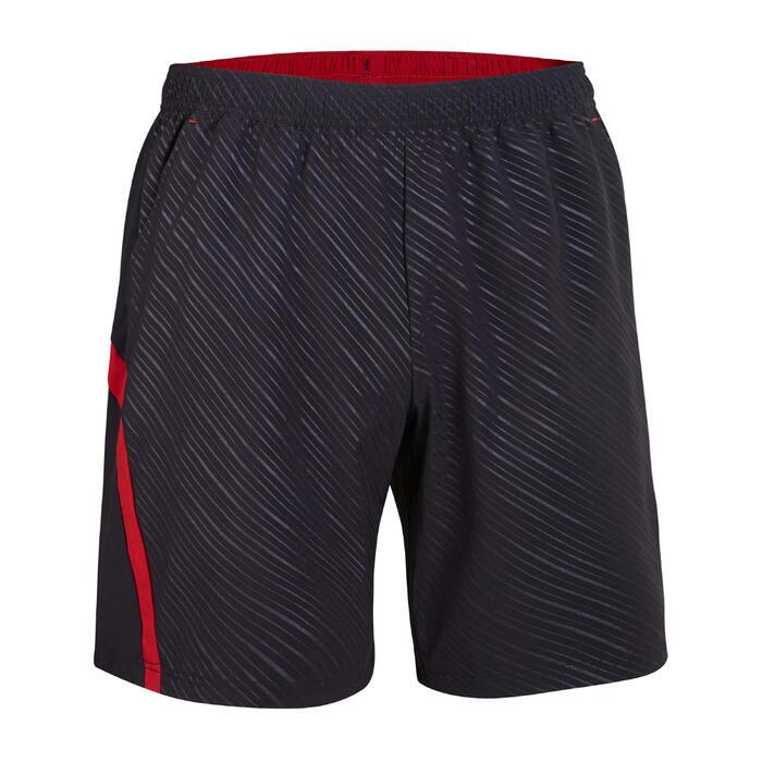 Shorts 560 Herren schwarz/rot