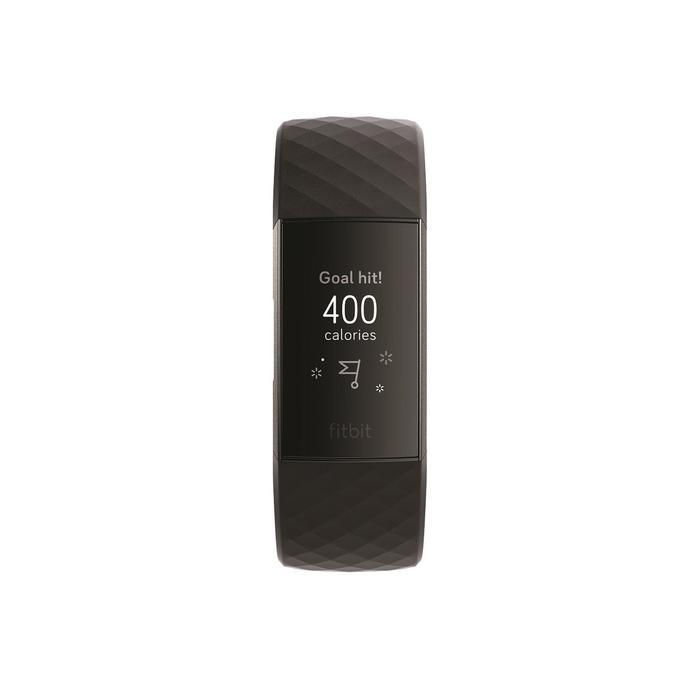 Fitnessarmband Fitbit Charge 3 schwarz