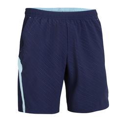 Pantalón corto de bádminton perfly 560 hombre azul marino