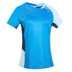 Dames T-shirt 560 blauw blauw