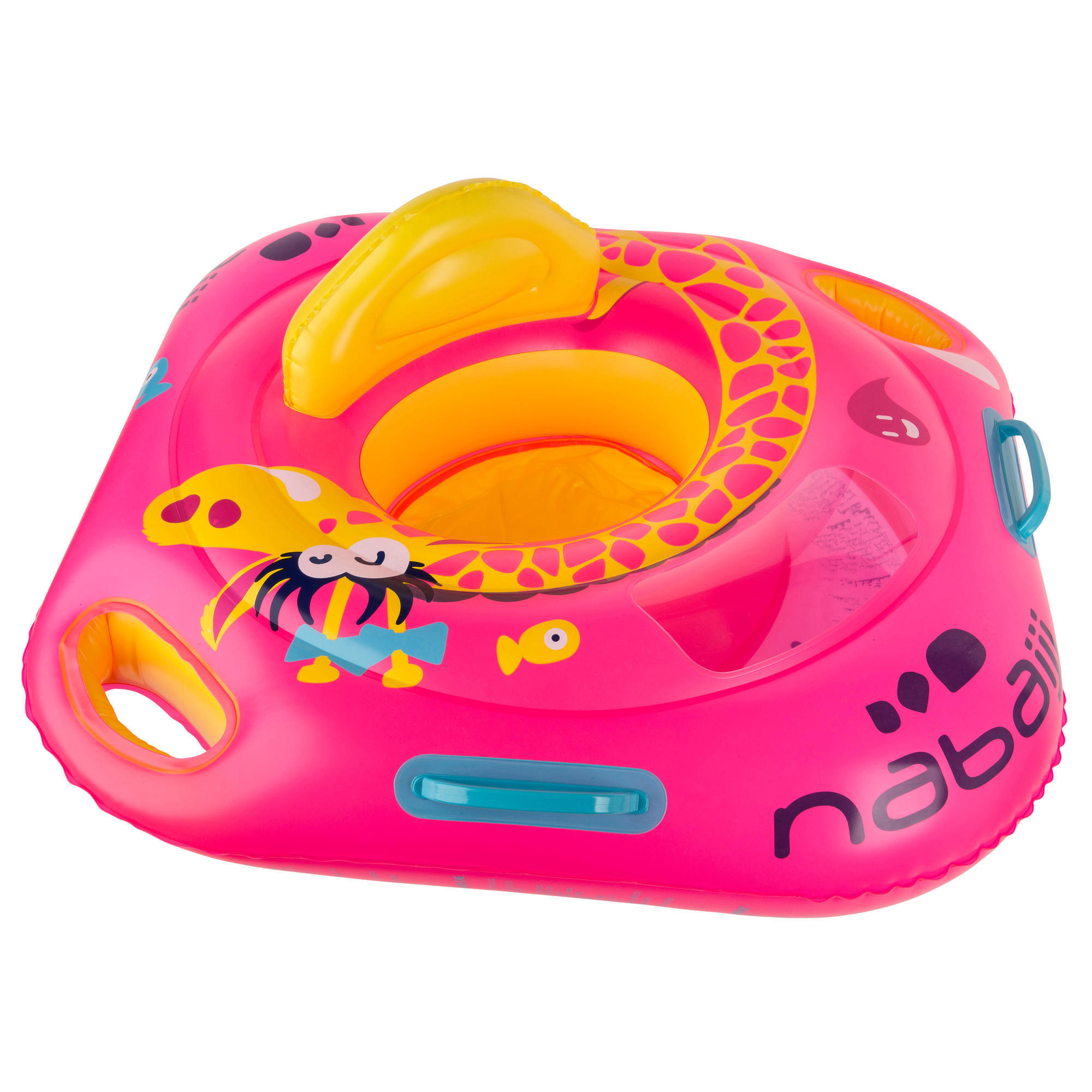 Baby seat swim ring with window & handles for children from 11 ...