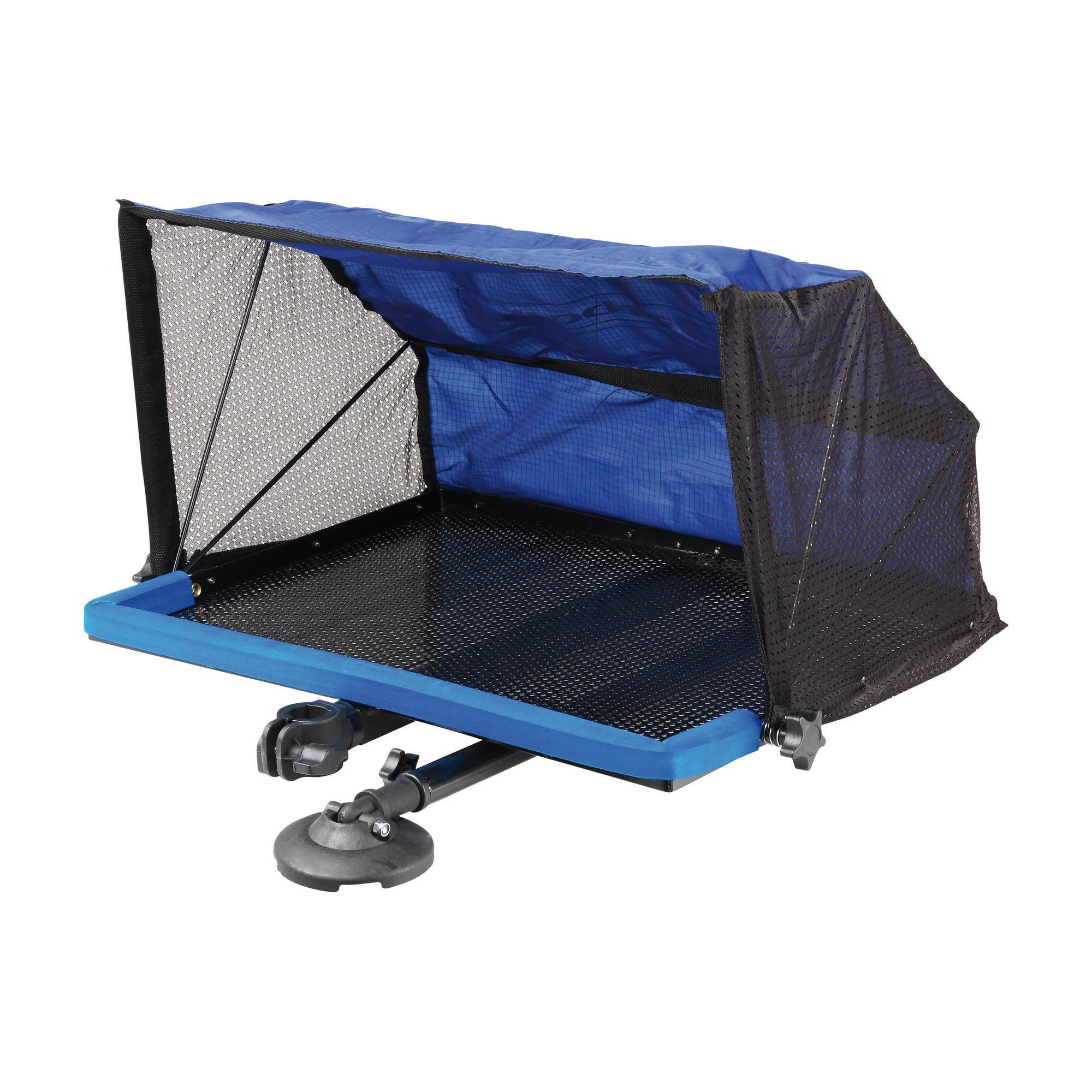 Garbolino Accessoire station Deluxe tafeltje met tent