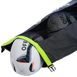 FILET A BALLON TUBE 5 BALLONS DE RUGBY KAKI