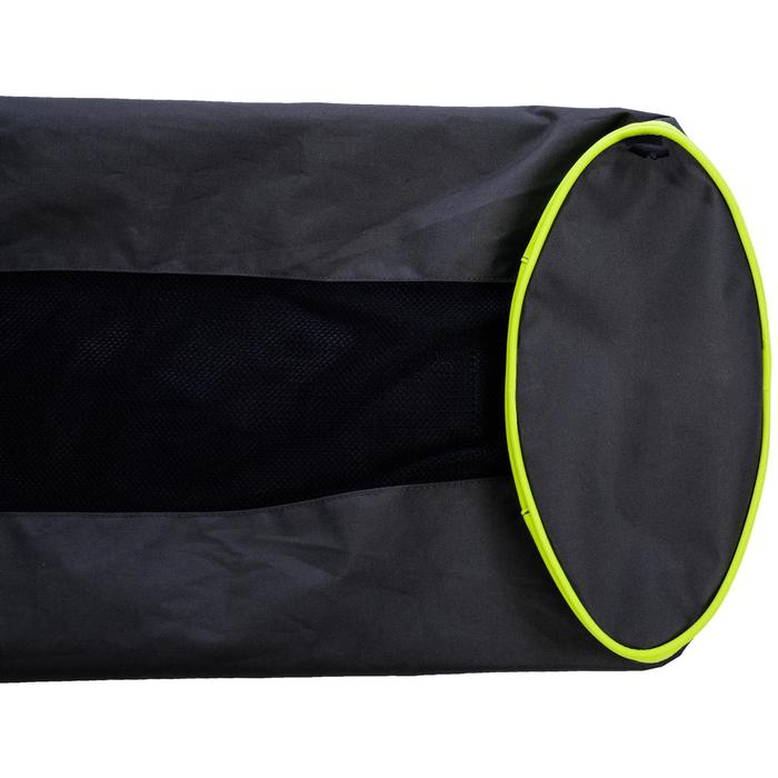 Bolsa de tubo para 5 balones de rugby caqui
