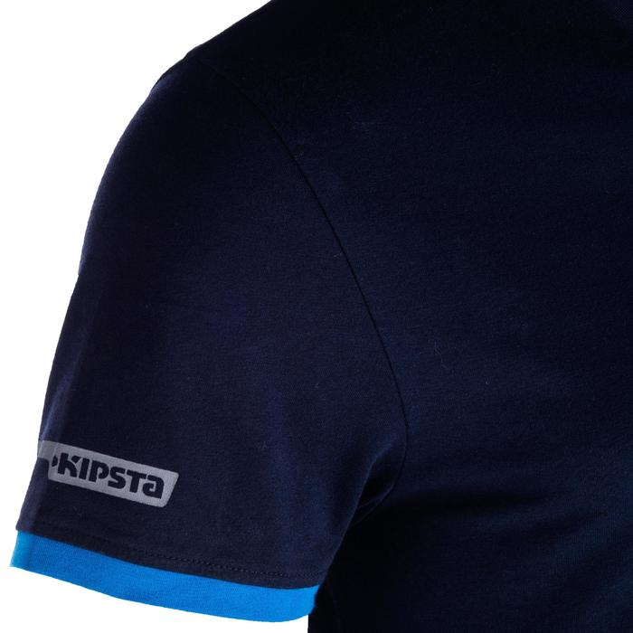 Rugby-T-Shirt R100 Herren blau