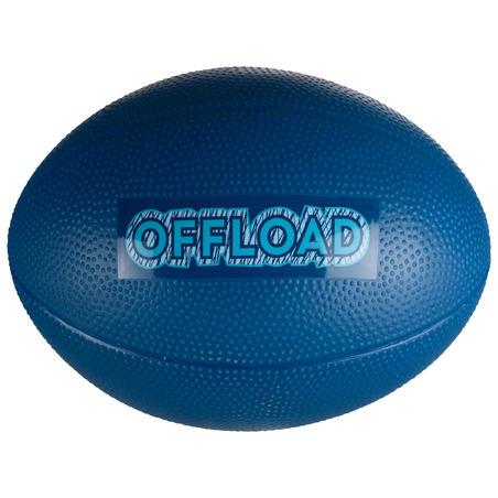 Mini R100 Recreational PVC Rugby Ball - Blue
