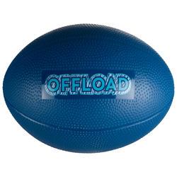 Freizeit-Rugbyball R100 Mini PVC blau