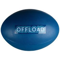BALLON DE RUGBY LOISIR R100 Taille 3 Bleu PVC