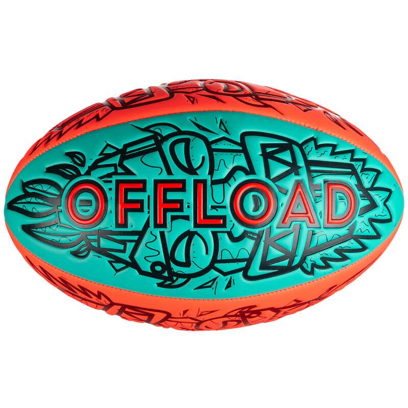 BOLAS / ACESSÓRIOS RUGBY Rugby - Bola Rugby de Praia R100 OFFLOAD - Rugby