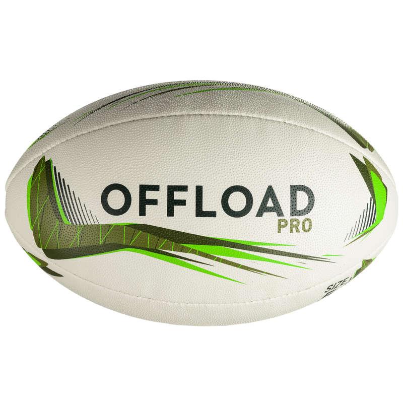 PALLONI, ACCESSORI RUGBY Sport di squadra - Pallone rugby R900 T5 verde OFFLOAD - Palloni Rugby e Materiale Allenamento