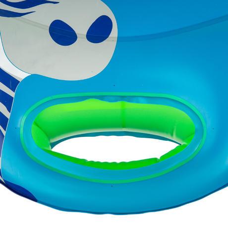 Bou e si ge b b bleue zebro avec hublot et poign es pour for Siege enfant 15kg