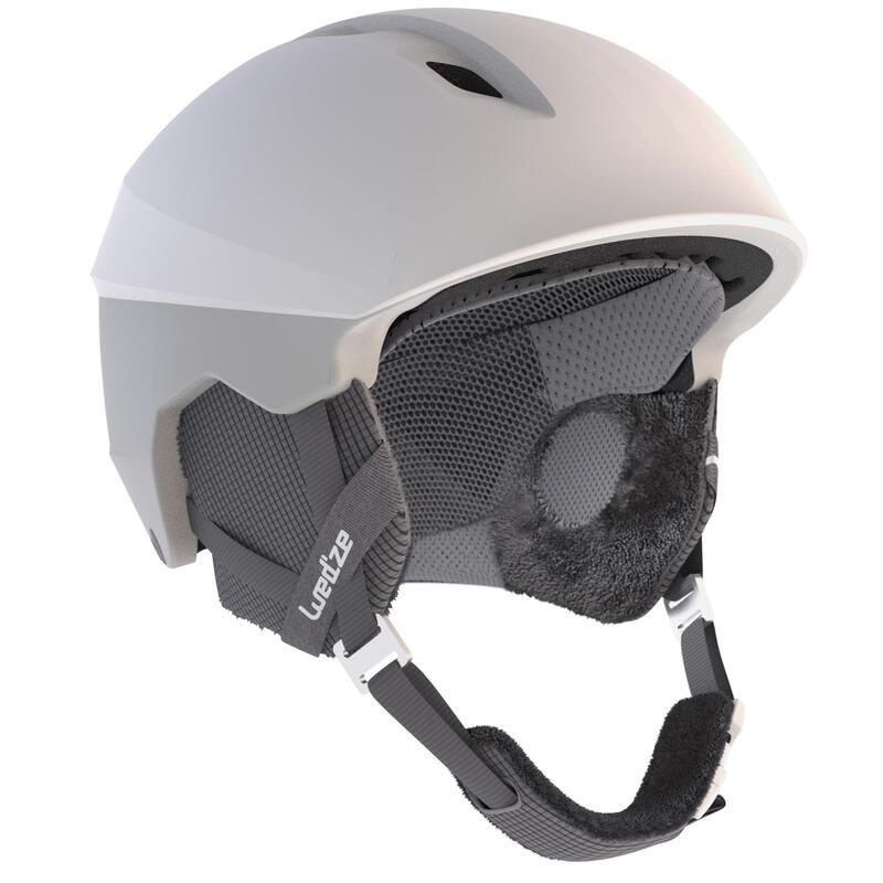 Skihelm voor pisteskiën volwassenen H PST 580 wit