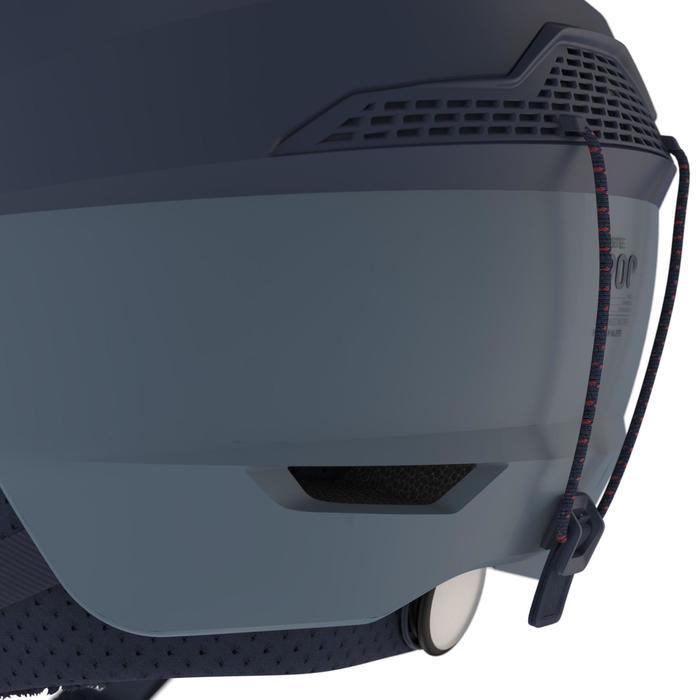 Skihelm H-PST 900 marineblauw